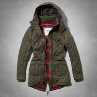 Nicole Quilted Parka