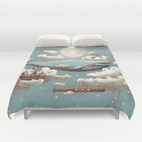 Ocean Meets Sky Duvet Cover by Terry Fan | Society6