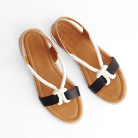 Reality Studio August Sandal - Black/Cognac « Pour Porter