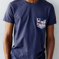 Space Mission Pocket Tee - Urban Outfitters