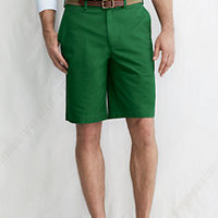 """Men's 11"""" Plain Front Original Chino Shorts from Lands' End"""