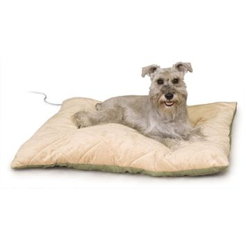 SheilaShrubs.com: Thermo Bed Large Sage KH3024 by K&H Manufacturing : Pet Beds & Mats