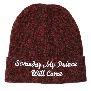 Disney Snow White Someday My Prince Will Come Watchman Beanie
