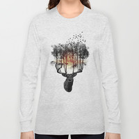Ashes to ashes. Long Sleeve T-shirts by John Medbury (LAZY J Studios) | Society6