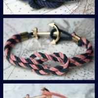 a blissful dream: DIY ~ nautical rope bracelet