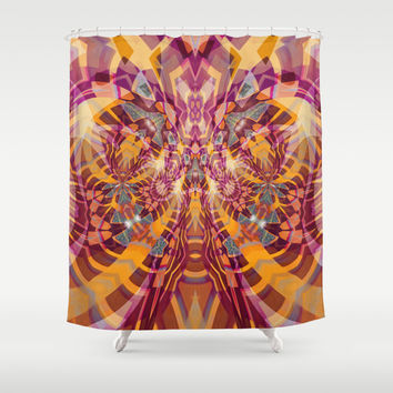 Zharko Shower Curtain by Webgrrl