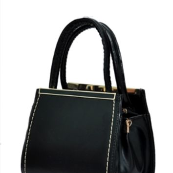 HauteChicWebstore Textured Faux Leather Fashion Tote at www.shophcw.com