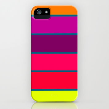 Happy Stripes #2 iPhone & iPod Case by 2sweet4words Designs | Society6