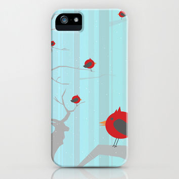 Winter Holidays iPhone & iPod Case by Allison Reich