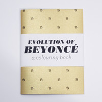 Team Art — Evolution of Beyonce - a Colouring Book