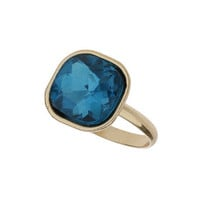 Turquoise Square Stone Ring