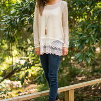 Have It Made Sweater, Cream
