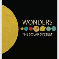 Wonders of the Solar System Minimalism Poster