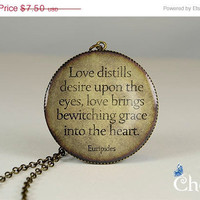ON SALE: famous quotes charm jewelry,handcrafted necklace pendants,vintage style resin pendants- Q0100CP