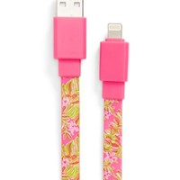 Lilly Pulitzer® 'Jungle Tumble' iPhone 5s, 5c & 5 USB Charging Cable | Nordstrom
