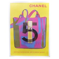 Chanel X-Ray Bag, Yellow