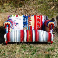 Rockabilly Retro Loveseat | Vintage Renewal