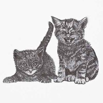 Plum & Bow Cozy Cats Wall Decal Set - Urban Outfitters