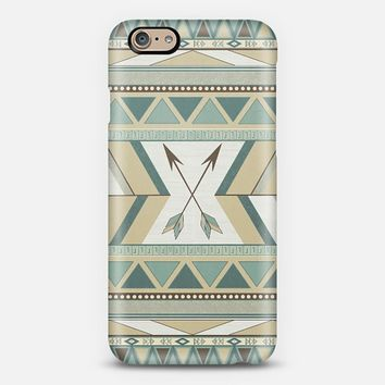 Aztec Pattern Arrows iPhone 6 case by LouJah | Casetify