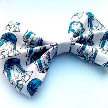 Star Wars R2D2 Hair Bow, Accessory, Geekery