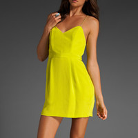 NAVEN Heartthrob Dress in Chartreuse at Revolve Clothing - Free Shipping!