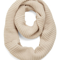 ModCloth Boho Open Air Outing Circle Scarf in Oatmeal
