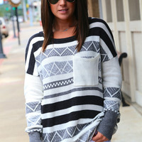 Color Me Gray {Sweater}