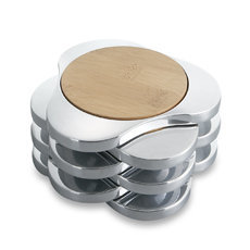 Nambe Zen Coasters - Set of 6 - Bed Bath & Beyond