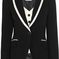 Moschino | Stretch-gabardine tuxedo jacket | NET-A-PORTER.COM