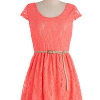 Bright There Dress in Pink | Mod Retro Vintage Dresses | ModCloth.com