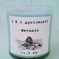 Limited Edition &#x27;Mermaid&#x27; Soy Candle