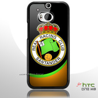 Racing Santander Football Club Logo HTC One M8 Case