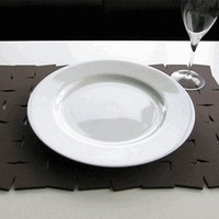 PUBLIQUE LIVING EVA BLOCK PLACEMAT