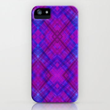 Berry Argyle iPhone & iPod Case by 319media