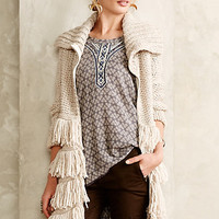 Flequillo Fringed Cardigan