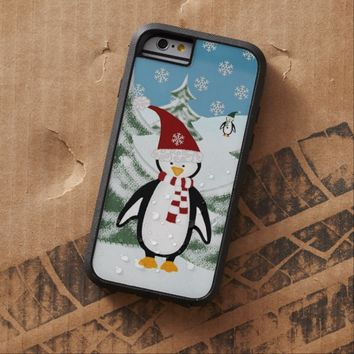 Winter Penguin Personalized: iPhone 6 case