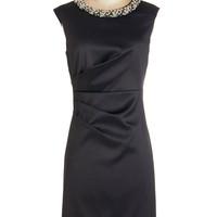 ModCloth LBD Mid-length Cap Sleeves Sheath Loving the Limelight Dress