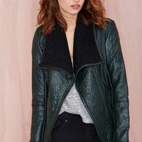 Blank NYC Drape Jacket