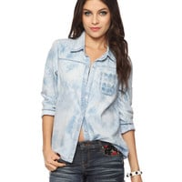 Mineral Wash Denim Shirt