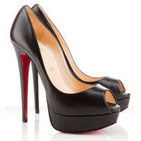 Christian Louboutin Lady Peep 150mm Balck
