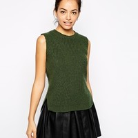 New Look Knitted Tank Top at asos.com