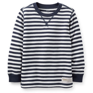 Thermal Striped Tee