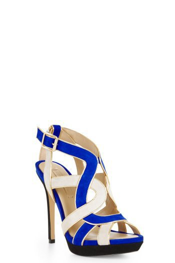 KAYCEE TWO-TONE STRAPPY SANDAL