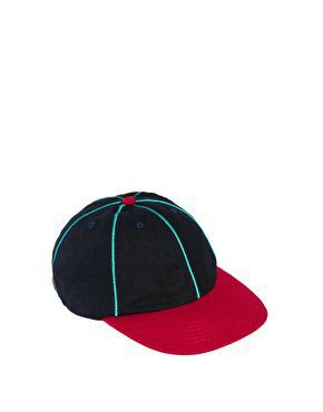 ASOS Melton Baseball Cap at asos.com