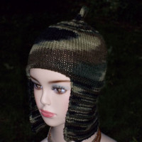 Knitting Pattern Helmet Hat PDF