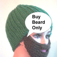 Knit Beard and Mustache
