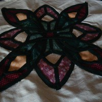 Finished Quilt Square by fugeecat on Zibbet