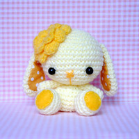 Crocheted Amigurumi Bit Bit Doll - (Made to Order)