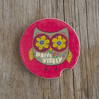 Drive  Wisely  Car  Coaster  From  Natural  Life
