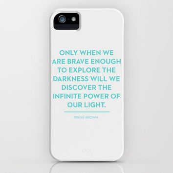 Brave iPhone & iPod Case by Heart of Hearts Designs